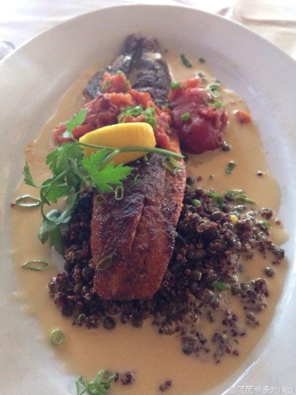 Roaring Fork Blackened Fish